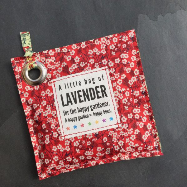 Lavender Bag red mitsi:claireaude 1