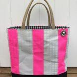 Shocking pink stripe 1