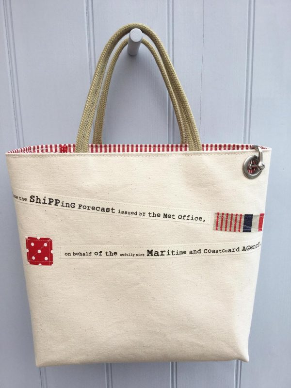 Shipping Forecast Bag Natural by Dr Bean's Bags